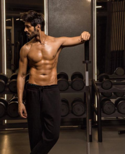 Kartik Aaryan fitness