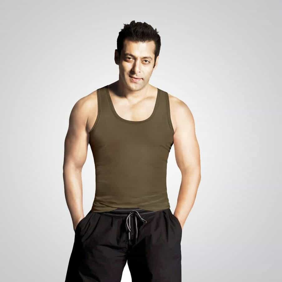 Salman Khan Standing In Gym Wear With Both Hands In Pocket