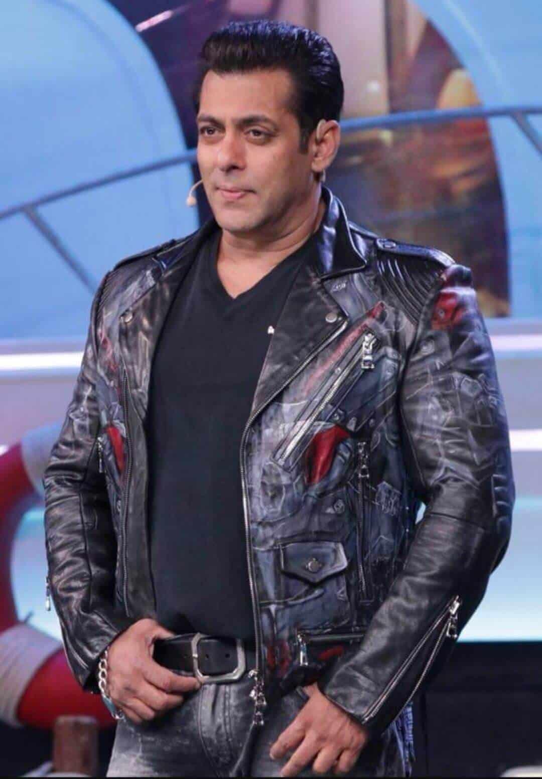 Salman Khan On Big Boss Set